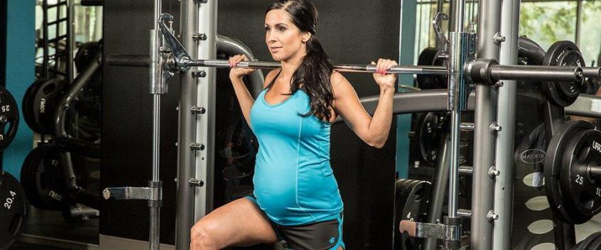 weight training during pregnancy - tabib.pk
