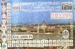 3-Tage-Ticket für Budapest