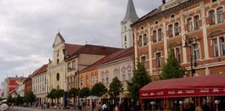 Die Innenstadt von Kosice an der Hlavná