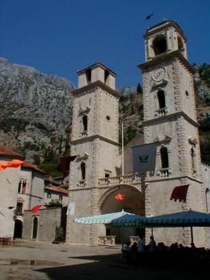 Kotor: Die Mauer der Altstadt