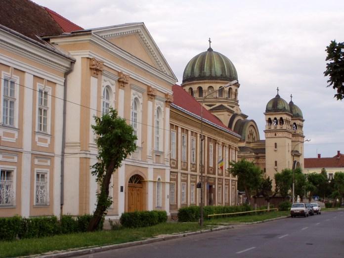 Die grosse Orthodoxe Kirche der Erzengel