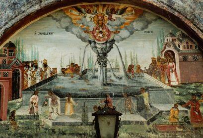 Die Fresken allein machen einen Besuch lohnenswert