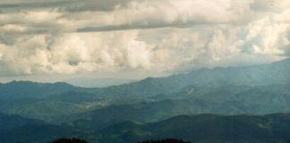 Berge, Berge, Berge: Richtung Griechenland wird es wieder flacher.