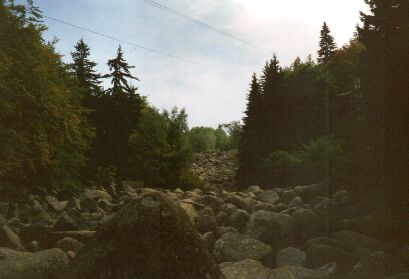 """Blockmeer """"Goldene Brücke"""" im Vitoscha-Gebirge"""