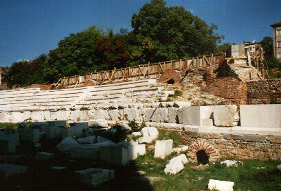 Römische Ruinen in Stara Sagora