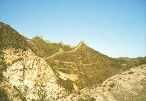 Umgebung der Chinesischen Mauer