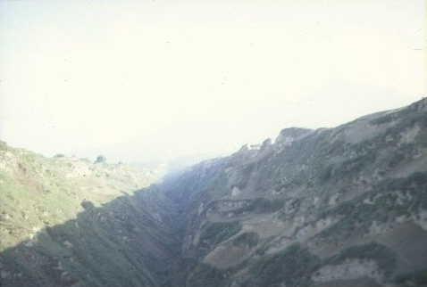 Lösslandschaft bei Xian