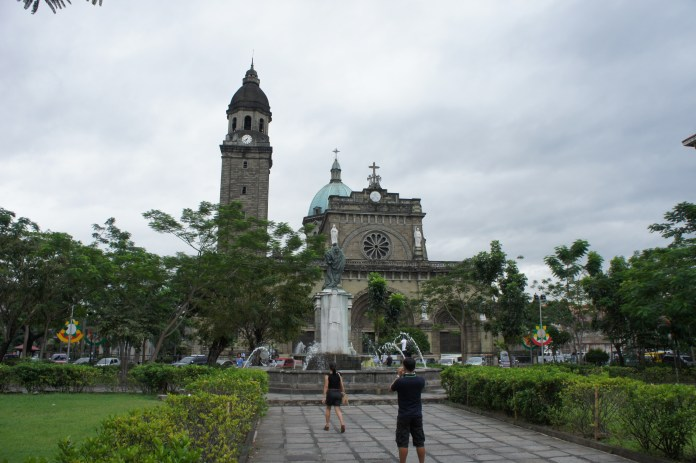 Kathedrale von Manila in Intramuros