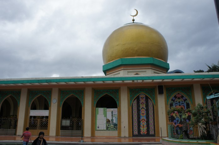 Sponsored by Gaddhafi - die Goldene Moschee