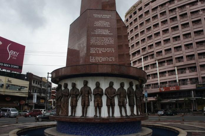 Pfadfinderdenkmal im Stadtzentrum
