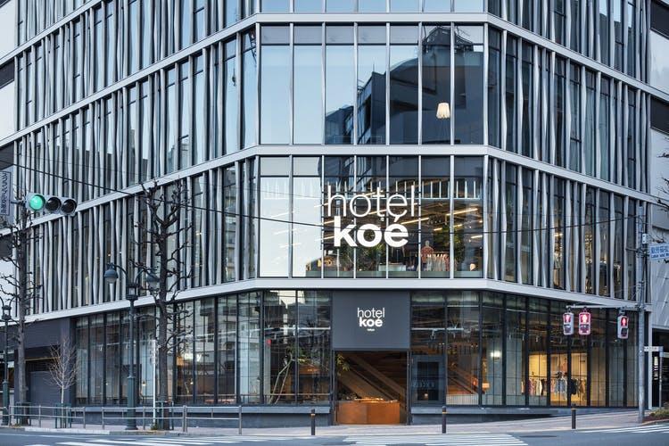 hotel koe tokyo             茶室の要素を現代的な解釈で表現! 写真1