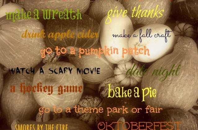 Things to do While Holding a Pumpkin Spice Latte || Take 2