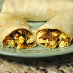 Chorizo Breakfast Burritos