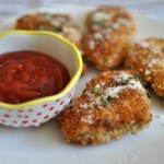 Panko-Crusted Chicken Nuggets