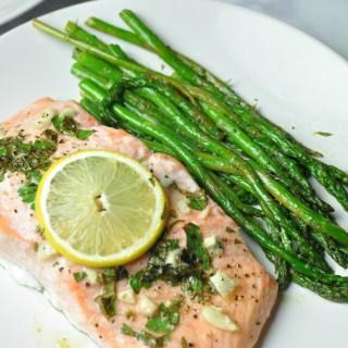 Lemon and Herb Baked Salmon
