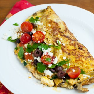 Greek Breakfast Omelet