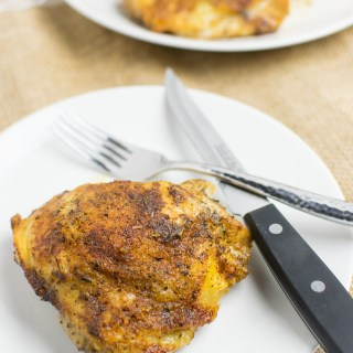 Easy Everyday Roasted Chicken Thighs