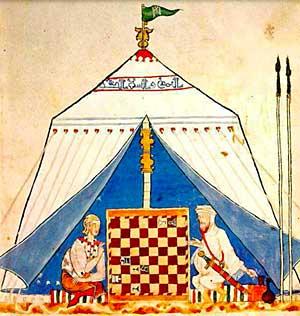 """Alfonso X """"Libro de acedrex, dados e tablas"""" (Fuente: https://i2.wp.com/www.tabladeflandes.com/frank_mayer/Libro_de_acedrex_dados_e_tablas_2.jpg)"""