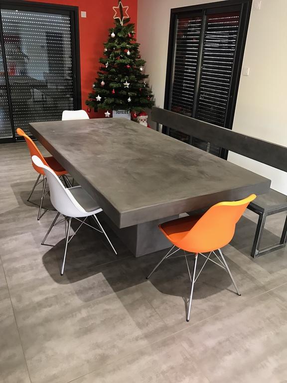 table beton cire com le site des