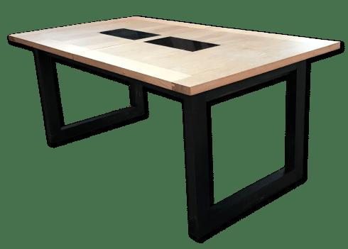 tables a allonges bois de chene