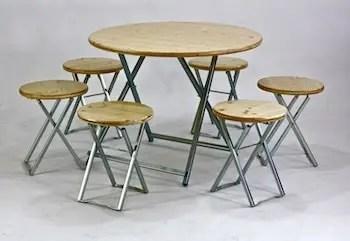 haute table pliante gain de place