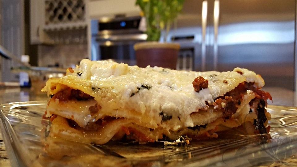 Sausage and Greens Lasagna