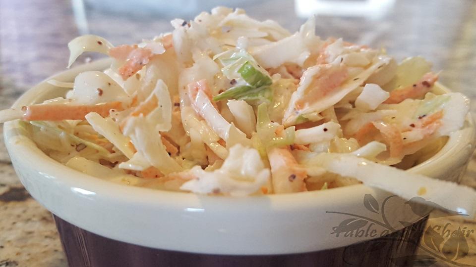 5 Minute Coleslaw