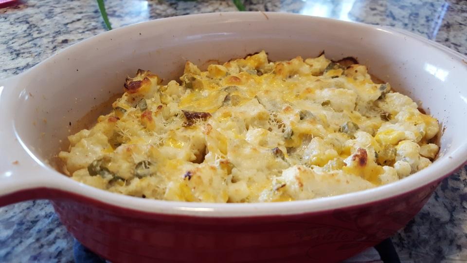 Southwestern Cauliflower Casserole