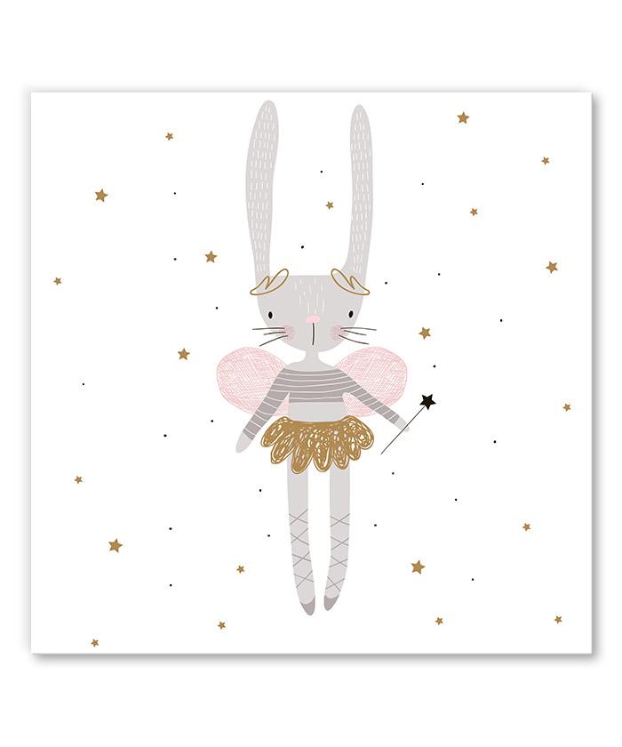 tableau petite fee lapine