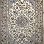 Isfahan Silk Persian Rug Item 777
