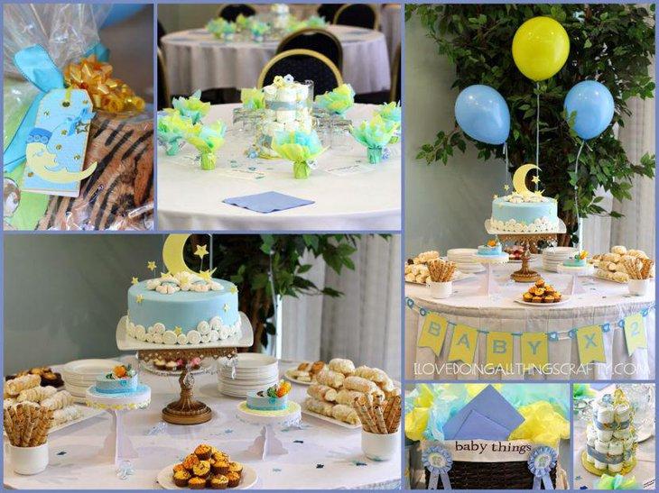 Twin Boys Baby Shower Cake Ideas
