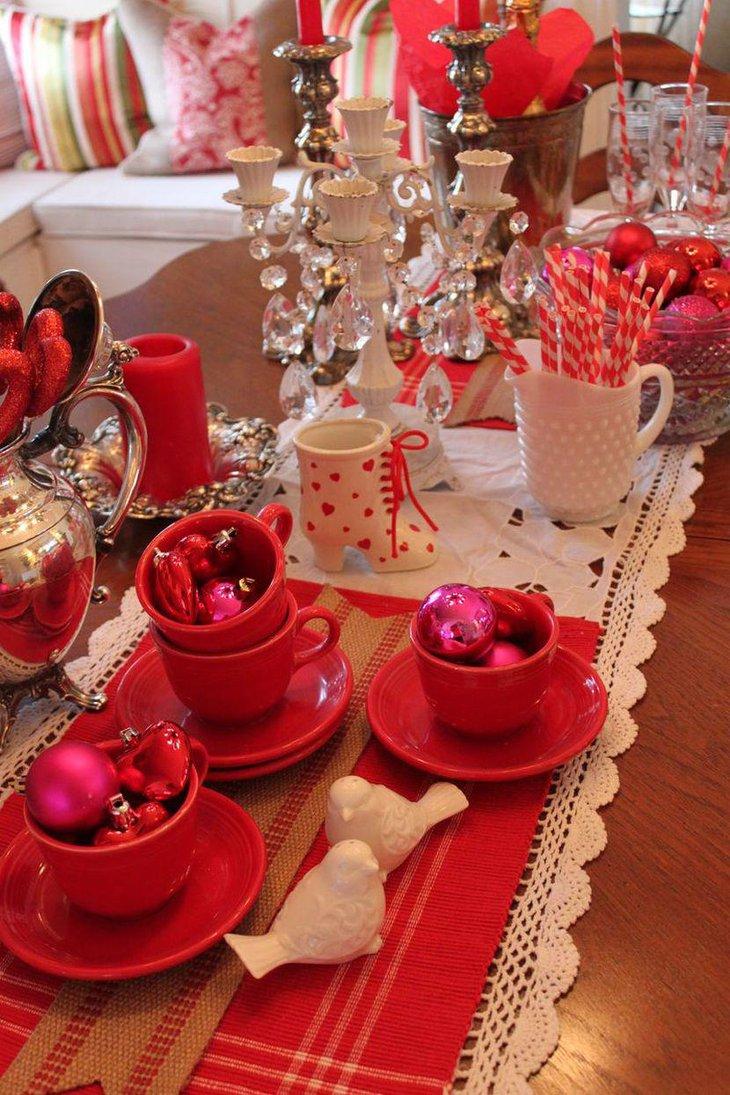 37 Romantic Valentine Table Decorations Table Decorating