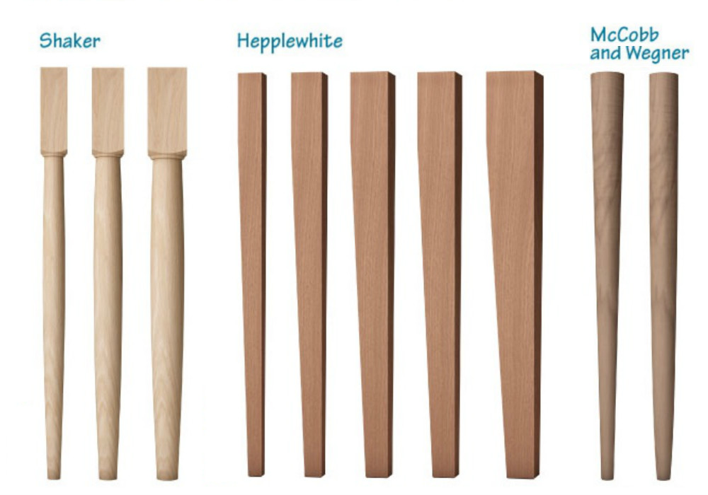 how to choose your table legs