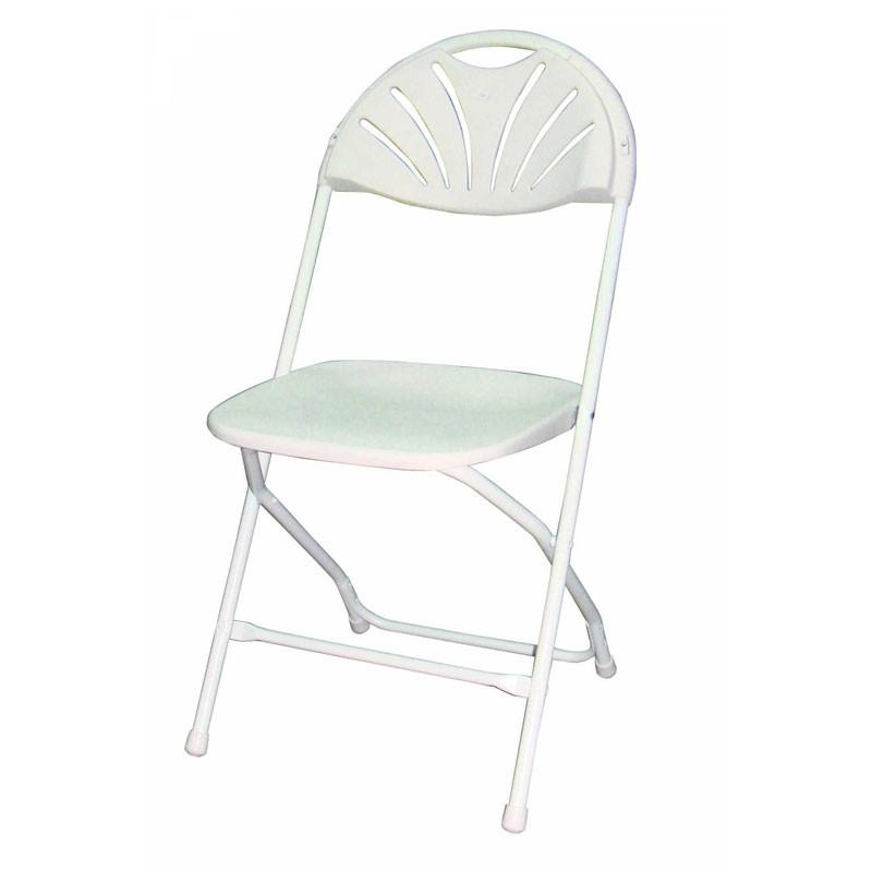 lot de 8 chaises pliantes en polypro