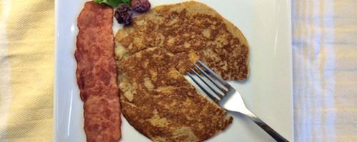 Two-Ingredient Paleo Banana Pancakes