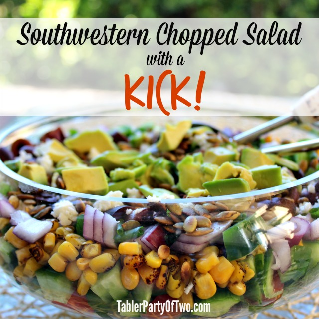 Southwestern Chopped Salad with a Kick