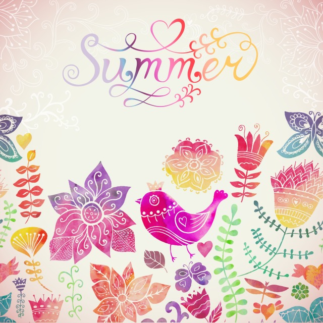 Summer Printable... love the cheerful colors!