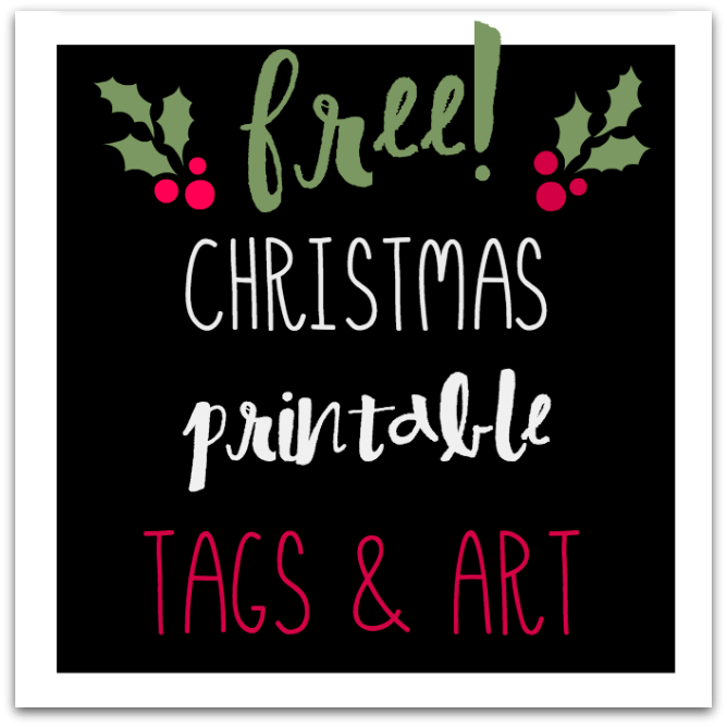 Super cute, fun and FREE Christmas printables! | Tabler Party Of Two | www.TablerPartyofTwo.com