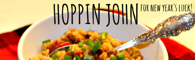 Ring in the New Year with Lucky Hoppin John!