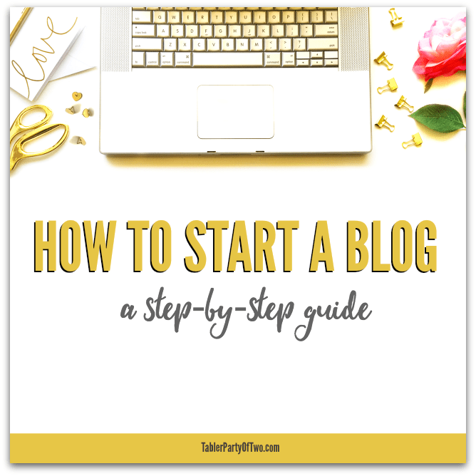 Learn How To Start A Blog: A step-by-step guide. You can do this in less than an hour!