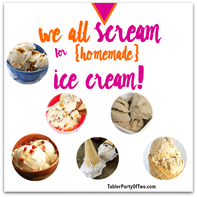 Homemade ice cream recipes you'll love!