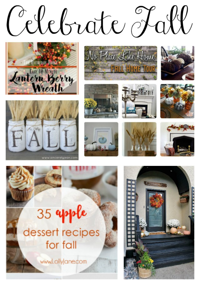 Celebrate Fall with these creative and inspiring ideas! TablerPartyofTwo.com