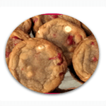 Maraschino Cherry White Chocolate Cookies Thumbnail