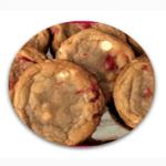 Maraschino Cherry White Chocolate Cookies Thumbnail
