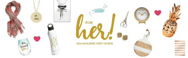 The Ultimate Holiday Gift Guide for Her | Tabler Party of Two