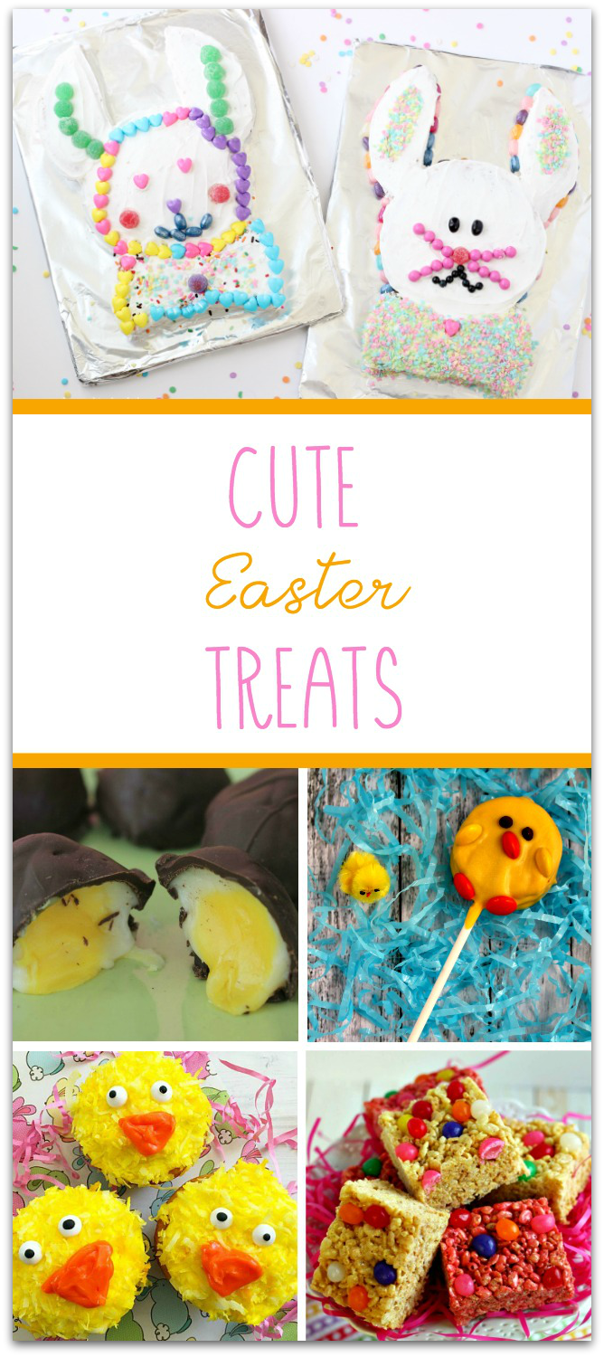 Easter treats you can make with the kids! Get inspired to make your own. TablerPartyofTwo.com