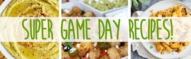 Super Game Day Recipes and Sunday Features {159}