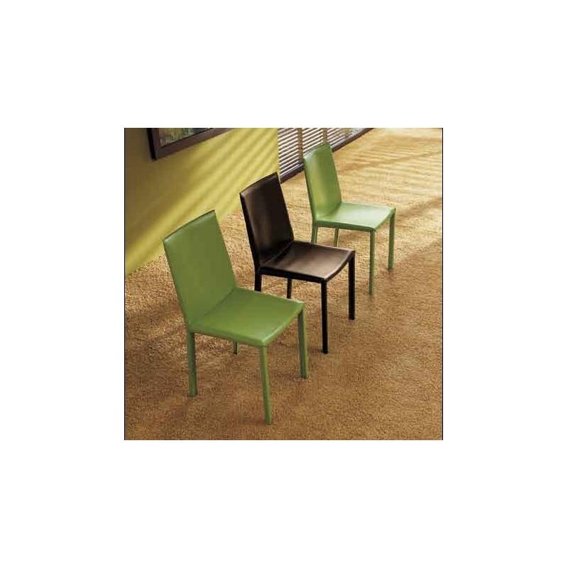 Chaise En Cuir PALMA Contemporaine MIDJ Cuisine Salle A