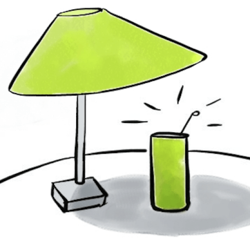 TableSol Mini Tafel Parasol voor je drankje