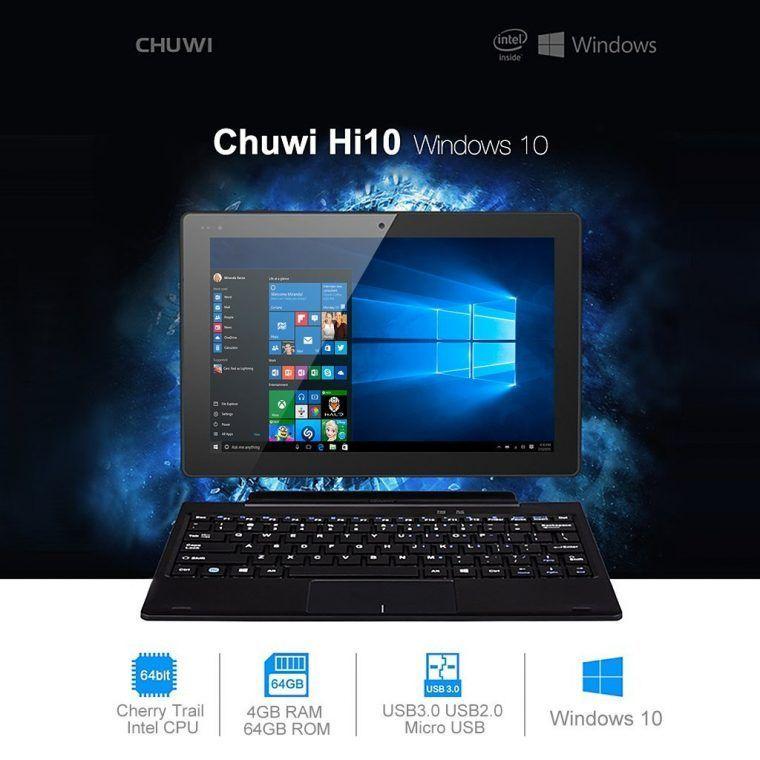 modo tablet en windows 10